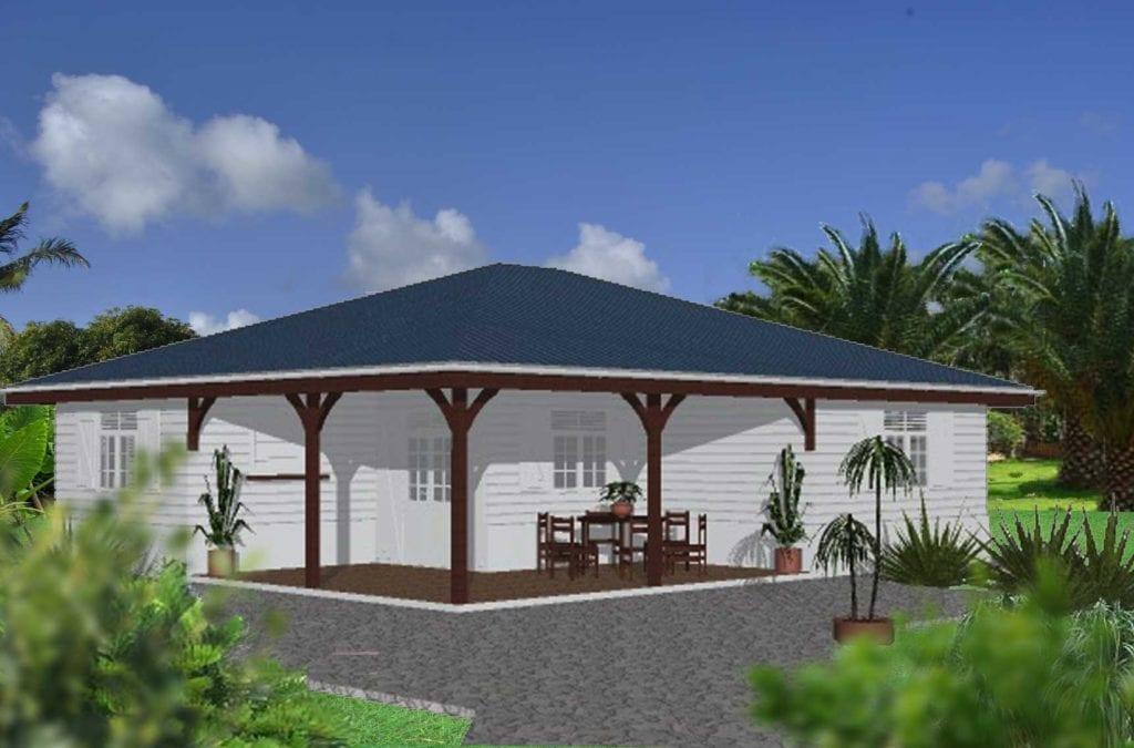 Maison en bois en Martinique et en Guadeloupe