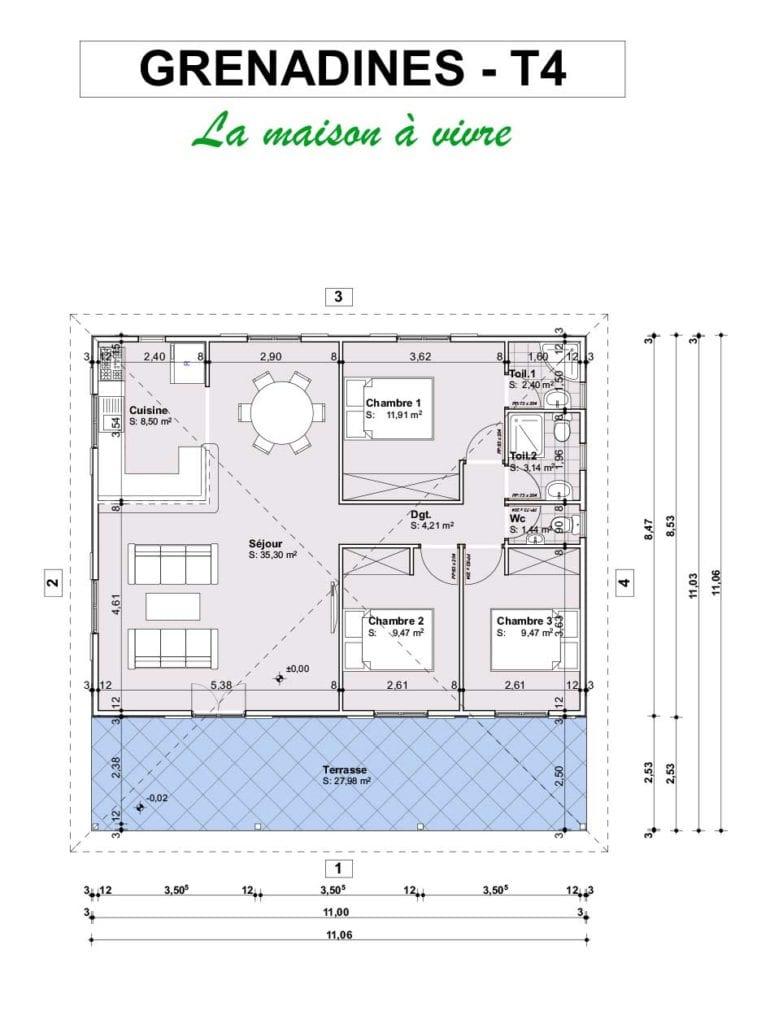 FICHE GRENADINES T4  757x1024 - Maisons