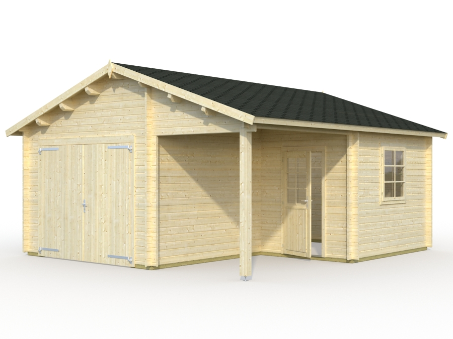 garage4 visul white uksega 900 - Garages