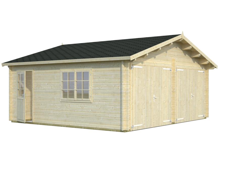 garagedouble visual white 900 - Garages