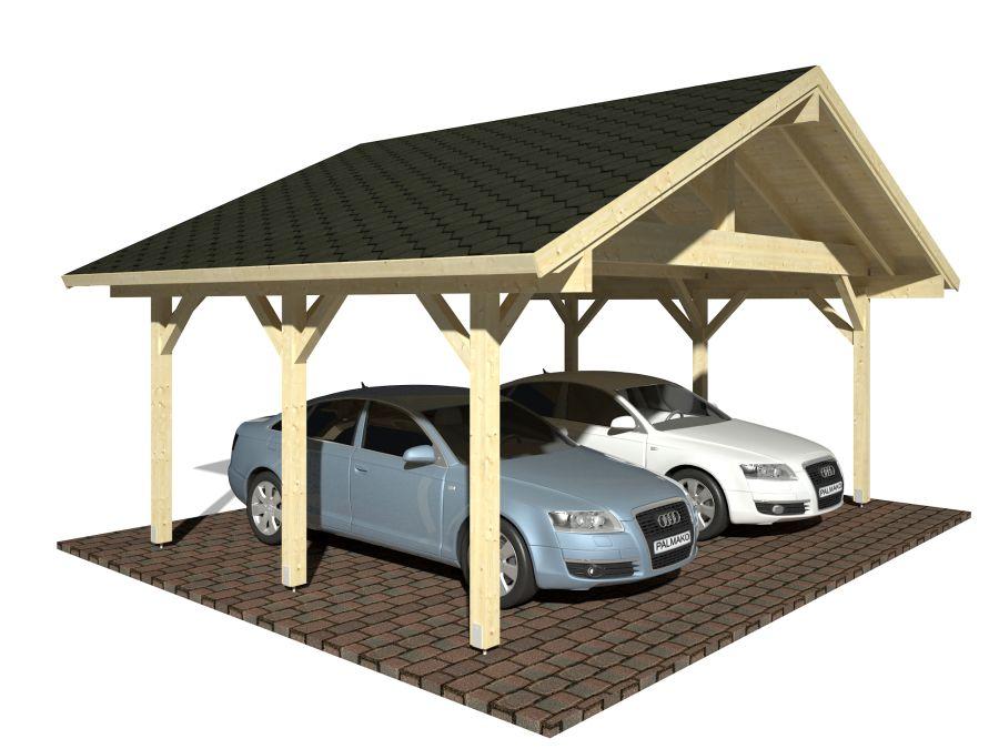 robert visual white 900 - Garages