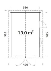 roger 19.0 m2 wooden gate pp 700 215x300 - Garages