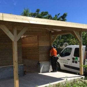 maison bois martinique Guadeloupe 1 300x300 - Nos réalisations