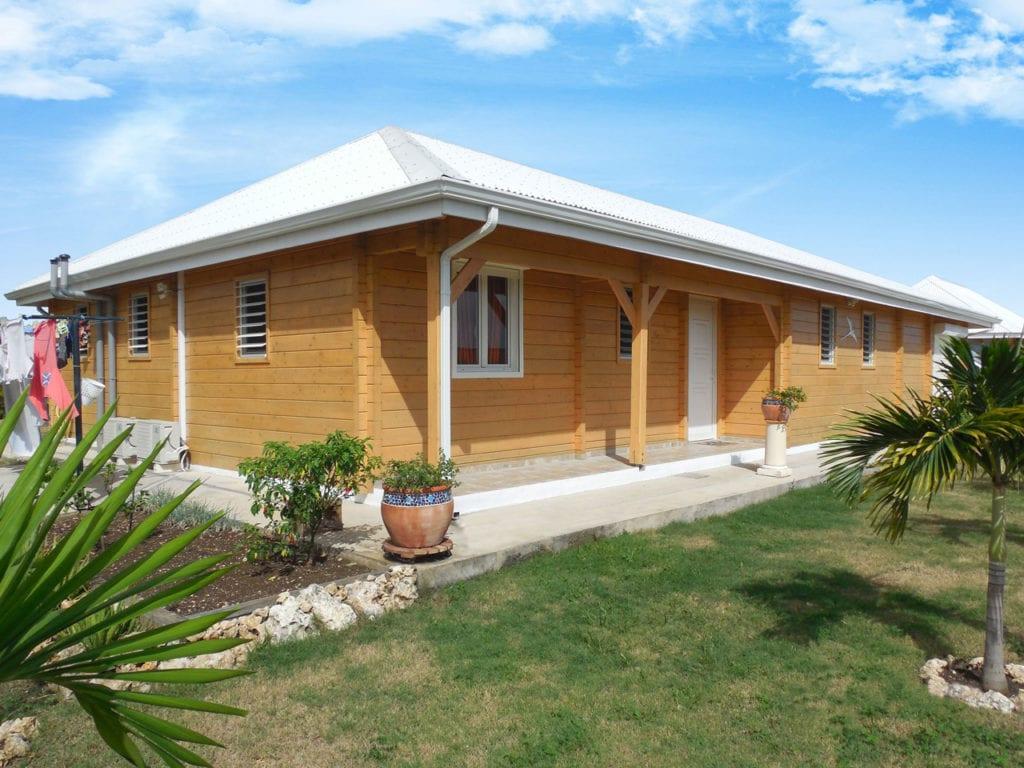 maison en bois guadeloupe maritnique